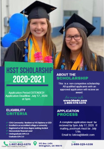 ExtendedScholarship Program Flyer